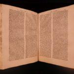 1555 Bolognetti ITALY LAW Italian Renaissance Humanism Medici NAPLES Rare Folio