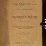 1864 Civil War General Benjamin Butler New Orleans Americana Louisiana Gulf