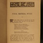 1878 1st/1st Mark Twain Punch Brothers Punch Literary Nightmare Earworm Jingle