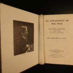 1911 1ed Frederick Cook North Pole Arctic Illustrated Eskimos Voyages Boreal
