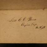 1862 Union Brig General Philip Cooke Cavalry Tactics Civil War SOLDIER SIGNED