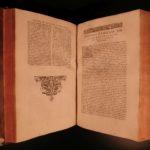 1593 Saint Cyprian Bishop of Carthage Early Christian MARTYR Papacy HUGE FOLIO