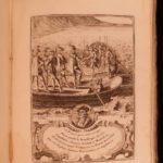 1722 1ed French Kings Illustrated France Charlemagne Pharamond Clovis Louis XIV