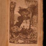 1767 Five Orders Architecture VIGNOLA FOLIO Italian ART Michelangelo Vatican
