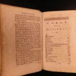 1698 Cesare Ripa Iconologia Illustrated Emblem Book Egypt ROME Greek Allegory
