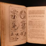 1698 Cesare Ripa Iconologia Illustrated Emblem Book Egypt ROME Greek Allegory