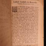1661 1ed Carmen Tograi ARABIC Poetry Pococke Oriental Islam Alchemy Ali Tughrai