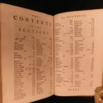 1752 John LOCKE Some Thoughts Concerning Education English Philosophy Scotland