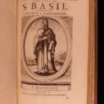 1683 Lives of Church Fathers by Cave Saints & Martyrs Ambrose Eusebius Cyprian
