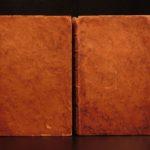 1786 1st ed Tressan on Electricity Physics Science Natural Phenomena Volcanos 2v