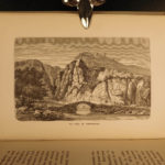 1886 Famous Caves & Catacombs Egypt ROME India Greece Illustrated Grottos