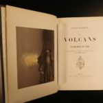 1866 1ed Volcano and Earthquakes Geology Boscowitz Illustrated Science Vesuvius