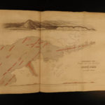 1852 1st ed Owen Geology Survey of Wisconsin Iowa Minnesota Great Lakes Fossils