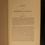 1880 Life of Andrew Jackson War of 1812 Native American Indians Military Tactics