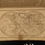 1856 Norie Practical Navigation Sea Voyages MAPS Illustrated Compass Charts