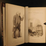 1835 Life of Samuel Johnson by James Boswell FAMOUS English Biography 10v SETv