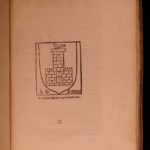 1644 Ancient EGYPT Occult Worship Casali Hieroglyphics Rituals Sphinx Scarab