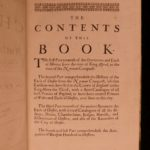 1673 1ed Peter Leycester Historical Antiquities Ireland Cheshire England FOLIO