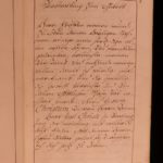 1750 Czech PRINCESS Handwritten Prayer Journal Austria Bohemian Lobkowicz