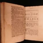 1698 1ed Stillingfleet Ecclesiastical LAW Cases Bond Resignation Anglican Church