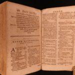 1641 RARE 1st ed Jewish Synagogue Judaica Latin Hebrew Rituals Johann Buxtorf