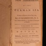 1764 1st English ed Limbourg Amusements of SPA Health Medicine Mineral Waters