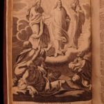 1730 1st ed Illustrated FOLIO Bible Overton EXQUISITE ART Theatrum Passionis