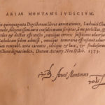 1575 Corpus Juris Civilis Justinian DIGEST Beautiful FOLIO Byzantine LAW Plantin