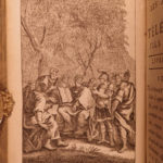 1785 Adventures of Telemachus Greek Mythology Ulysses Illustrated 2v Fenelon MAP
