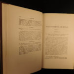 1881 Constitutional & Political History US CONSTITUTION Texas Slavery War HOLST