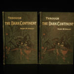 1879 1st ed Henry Stanley Through the Dark Continent AFRICA Cannibal Livingstone