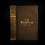 1888 1ed Life of Joseph Smith Prophet LDS Mormon Church Brigham Young Salt Lake