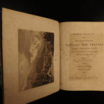 1808 1ed Pinkerton VOYAGES Exploration Illustrated MAPS Europe Stonehenge 6v
