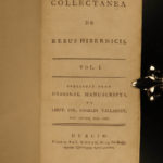 1780 Vallancey History of IRELAND Collectanea Hibernicis Illustrated MAP Ruins