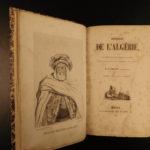1842 1st ed History Algeria French Colonization France Hunting Battles Pirates