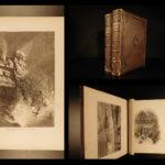 1874 BEAUTIFUL 1ed Picturesque America Illustrated Scenery Landscapes AMERICANA