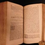 1664 RARE 1st ed John Barclay Satyricon Gunpowder Plot Jesuit Satire Morisot