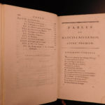 1796 Literature FABLES 8v SET Complete Works of Louis Mancini-Mazarini French