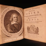 1668 1ed Works of Thomas Hobbes 1st Latin Leviathan Philosophy De Cive COMPLETE