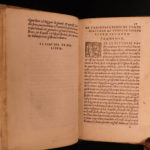 1540 Vegetius De Militari Roman Art of Military War Siege Tactic Gaetano Italian