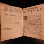 1733 Astronomy Novissimae Italian Mathematics Galileo Trigonometry Angel Capelli