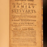 1710 1ed Crawfurd House of Stewart King James II Charles I Stuart England