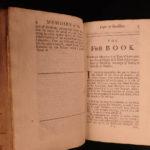 1693 1ed Memoirs Henry of Turenne & Frederic Duke of Bouillon ENGLISH Langlade