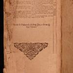 1717 RARE Romansh Language Swiss BIBLE Chur Coire Switzerland Grey League