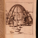 1697 1ed Art of GLASS & Glassware Blancourt Alchemy Philosopher's Stone Mirrors