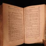 1697 1ed Art of GLASS & Glassware Blancourt Alchemy Philosopher's Stone Mirrors