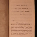 1797 1ed Armed Yeomanry Eliot Gower Sutherland Militia Cavalry Military War