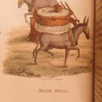 1812 1ed Breton CHINA Color Illustrated Asia Tartary Chinese Costumes Clothing