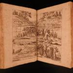 1734 Dianen SECRETS of Hunting Tanzer German Illustrated Bear Traps Sport DOGS