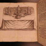 1733 Massialot French Cuisine Cooking Liqueurs WINE Confitures Jams Recipes Cookbook